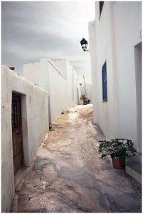 Un petit village du sud de l'Espagne dans la région de Mojacar